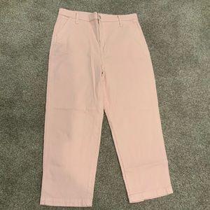 Madewell Classic Straight Pants Wisteria Dove 32